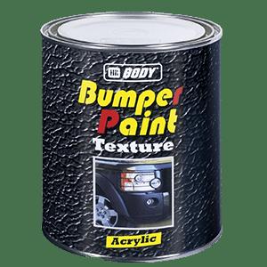 BUMPER PAINT TEXTURED BLACK 1L